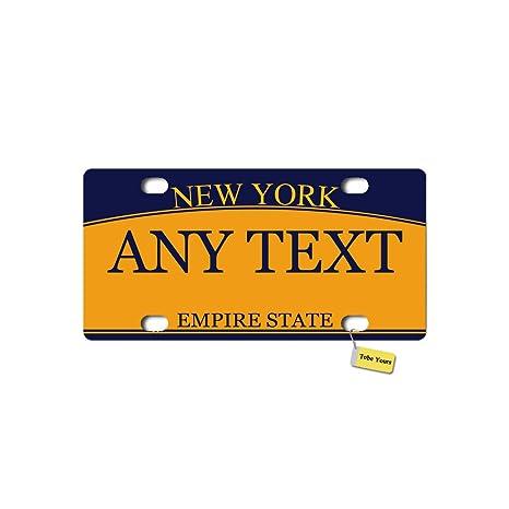 Amazon.com: Tobe Yours - Placa de matrícula de Estados ...