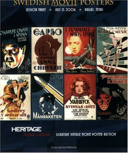 Swedish Movie Posters: Heritage Signature Vintage Movie Poster Auction-July 13, 2006; Dallas, Texas ()