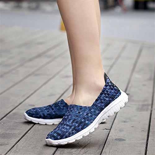SH075 Zapatillas Blau1 Mujer para AIRAVATA 68pFUqq