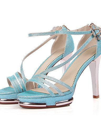 Dress Evening Blue Heels Open ShangYi Party Sandals Gladiator Stiletto Platform Shoes Heel Toe Women's amp; gqrw6q7O