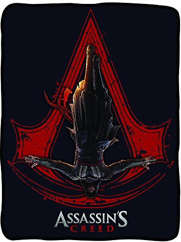 Utopia Alley Assassin's Creed Fleece Blanket by Utopia Alley