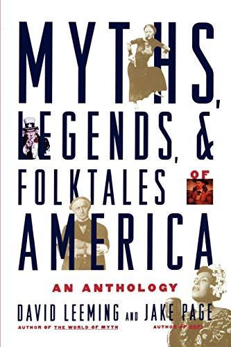 Myths, Legends, and Folktales of America: An Anthology