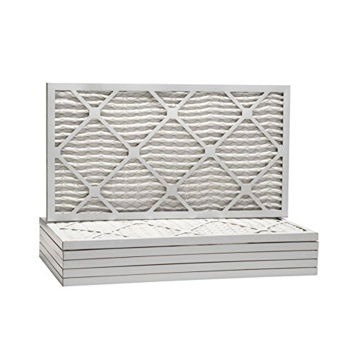 "ComfortUp WP25S.011033 - 10"" x 33"" x 1 MERV 13 Pleated Air Filter - 6 pack"