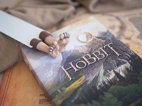 Handmade Hobbit bookmark. Great present for Lord of the rings fan. Book lovers present