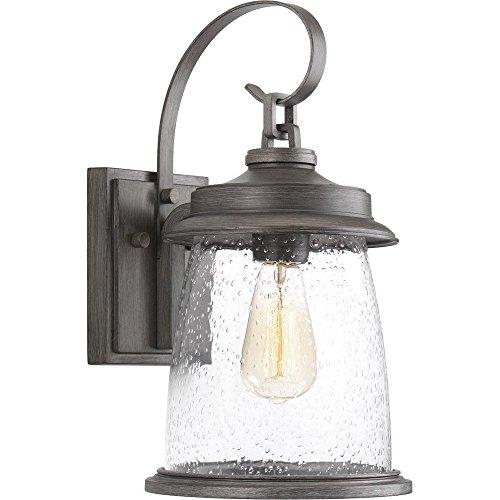 (Progress Lighting P560084-103 Conover Wall Lantern, Antique Pewter)