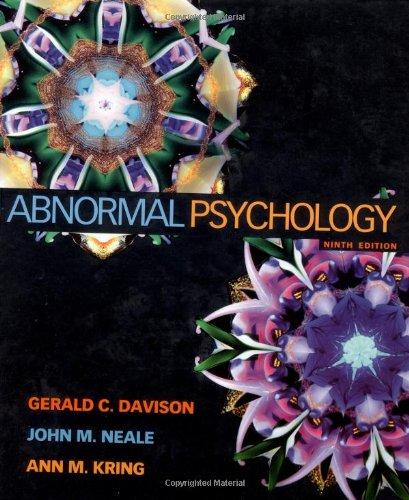 Abnormal Psychology -