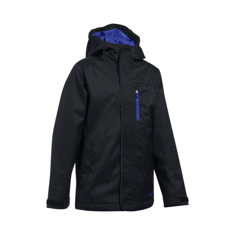 Under Armour Girls' ColdGear Infrared Gemma 3-in-1 Jacket, Black, Youth Small by Under Armour