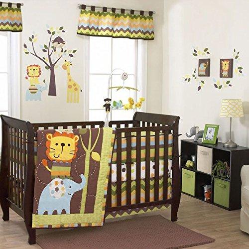 Zoo 3 Piece Crib - 8