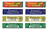 C. Howard's Mint Candies 4 Flavor Sampler Bundle, (2) each: Guava, Peppermint, Lemon, Speamint (15 Mints Each)