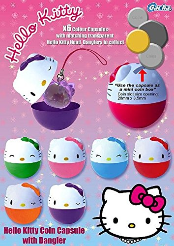 Hello Kitty Coin Capsule & Charm Surprise Set of 6]()