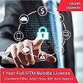 Zyxel Complete UTM Security Bundle Subscription License (1 Year) for USG40 | USG40W