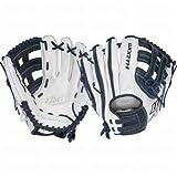 Worth Liberty Advanced Series Fastpitch Softball Glove ( Pro-H Web) La117wn Pro H 11 3/4 Inch Right White|Navy 11 3/4 Inch