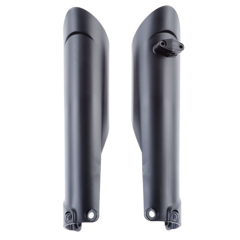 Acerbis Lower Fork Cover Set Black - Fits: KTM 350 EXC-F 2016-2018