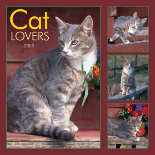 Cat Lovers 2009 Square Wall Calendar