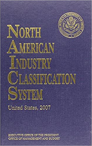 North American Industry Classification System NAICS Federal