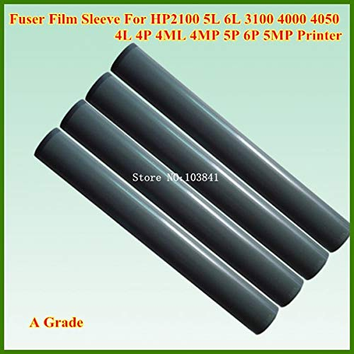 Yoton 10PCS Compatible A Grade Fuser Film Sleeve for HP2100 HP 2100 5L 6L 3100 4000 4050 4L 4P 4ML 4MP 5P 6P 5MP Printer Fixing telfon ()