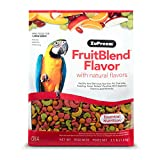 ZuPreem ZP84030 Fruit Blend Diet for Large Birds, 3.5-Pound