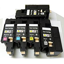Compatible Toner Cartridges for Xerox Phaser 6000, 6010, Workcentre 6015 - 5pk (2BK + CMY) by Unknown