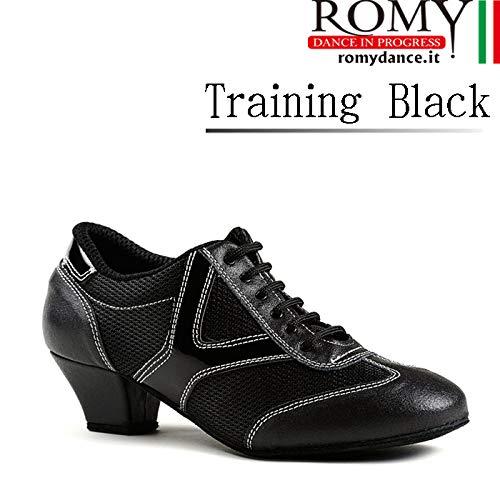 人気大割引 (ロミーダンス)ROMY dance「Training Black(レディース トレーニング シューズ)」|女性 B07PK8KH4S トレーニング|レディース|シューズ Black(レディース|ダンス|社交ダンス|ラテン|スタンダード B07PK8KH4S 38(23.7cm), H+mFurniture:bf79144a --- a0267596.xsph.ru