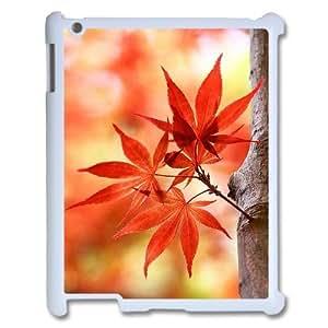 Custom iPad2,3,4 Case, Zyoux DIY New Fashion iPad2,3,4 Cover Case - Tree leaf