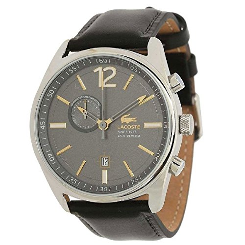 Lacoste Austin Chronograph Leather - Black Men's watch #2010728