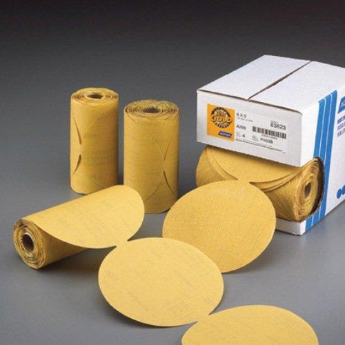 Norton 636425-06164 Gold Reserve 6'' P800B PSA Disc Roll, (100 Discs/Roll)