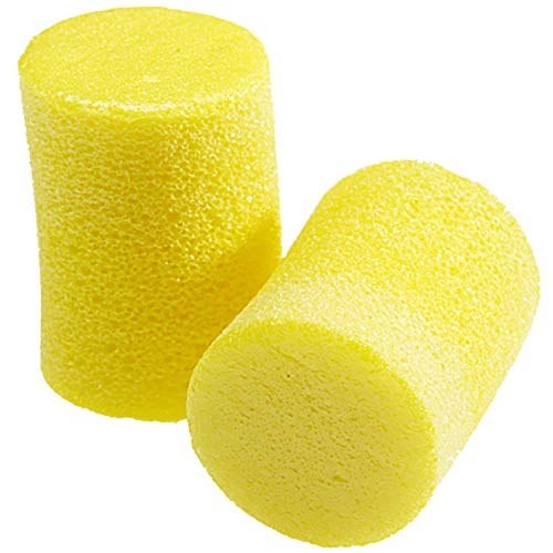 3M Ear Plugs, 30 Pairs/Box, E-A-R Classic 310-1060, Uncorded, Disposable, Foam, NRR 29, For Drilling, Grinding, Machining, Sawing, Sanding, Welding, 1 Pair/Pillow Pack