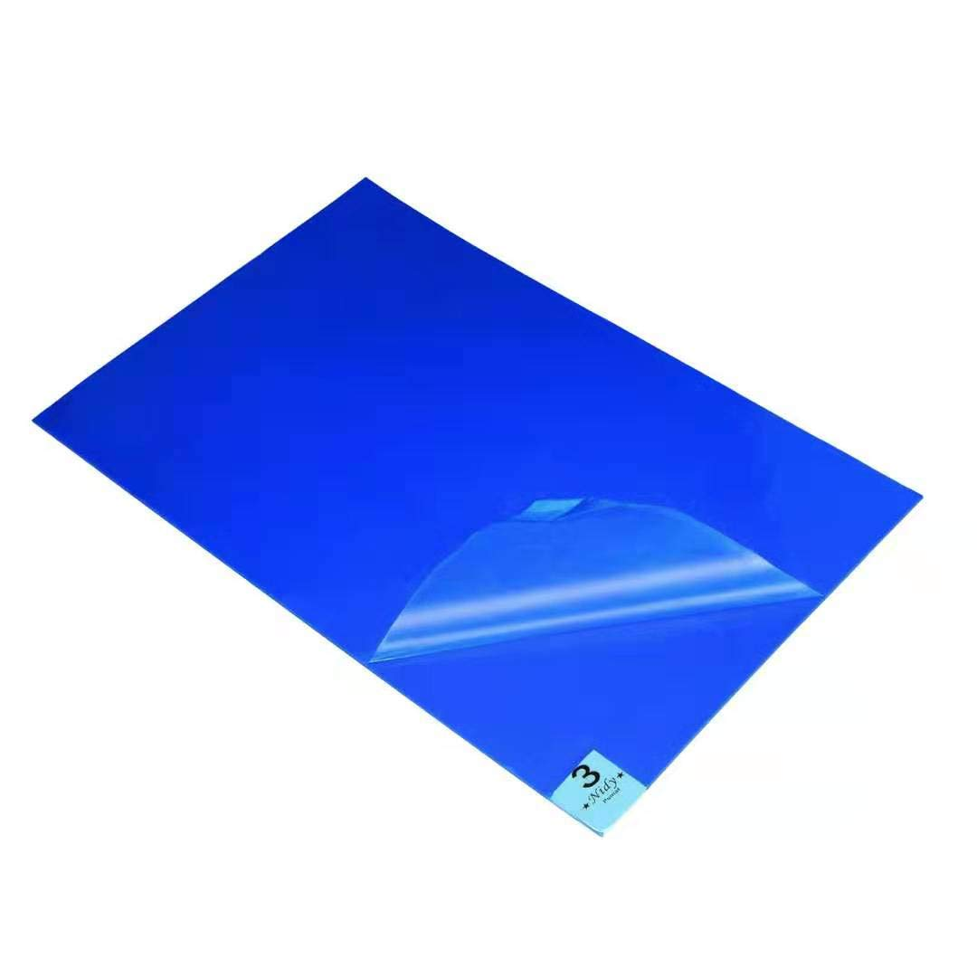 Blue (Case of 5 Mats,30 Sheets Each 24x 36 inchs) for Cleanroom Laboratory Hospital Home Construction Pets