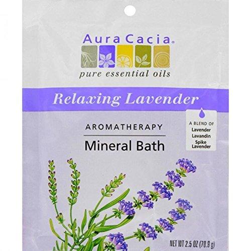 Aura Cacia Mineral Bath, Harvest Lavender 2.5 Oz by Aura Cacia