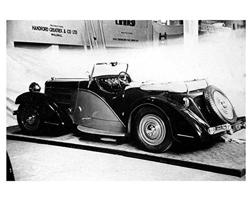 1934 Avon Standard Automobile Photo (Avon Photo)