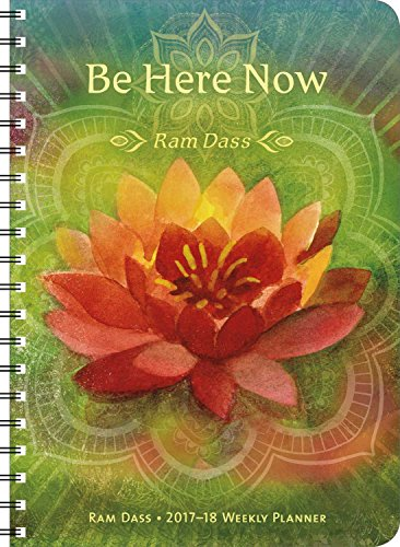 Ram Dass 2017 – 2018 On-the-Go Weekly Planner: 17-Month Calendar with Pocket