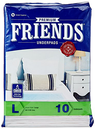 Friends Underpads Premium Large size (Pack of 10)