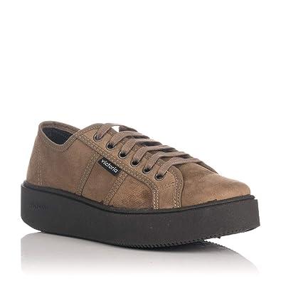 Zapatillas Victoria Basket Taupe 260116: Amazon.es: Zapatos y complementos