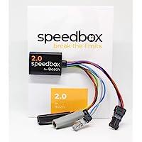 Speed Box versie 2.0 voor Bosch middenmotoren, E-Bike Chip Tuning Model 2020