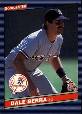 Amazoncom 1986 Donruss Baseball Card 295 Dale Berra Mint
