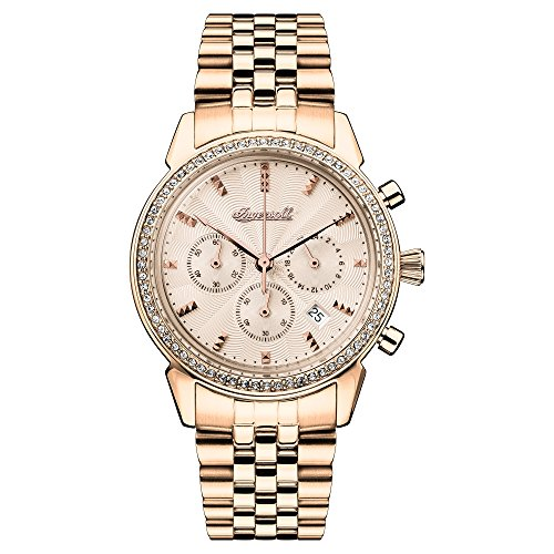 Ingersoll Women's Automatic Stainless Steel Casual Watch, Color:Gold-Toned (Model: I03904)