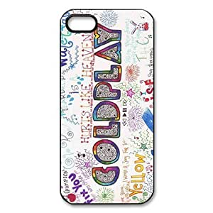 Custom Coldplay New Back Cover Case for iPhone 5 5S CP923 hjbrhga1544
