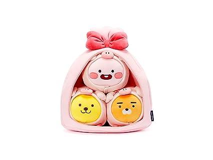 Amazon.com: Kakao - Juego de 3 muñecas de peluche Ryan ...