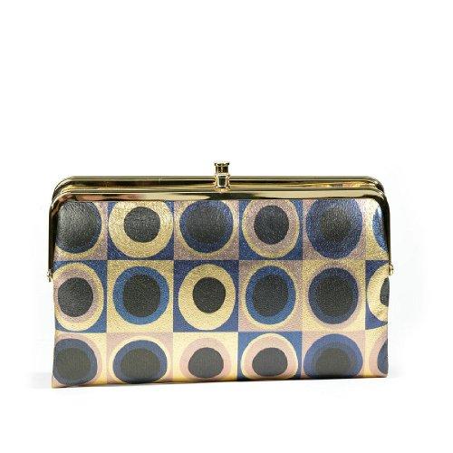 HOBO Lauren VI-3385 Wallet,Metallic Geo,One Size, Bags Central