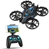 SZJJX RC Drone 2.4 GHz Remote Control Drones with Camera FPV Wifi Quadcopter 4CH 4-Axis Gyro Helicopter, Headless Mode, Altitude Hold, with HD Camera Real Time Transmission RTF SJ515