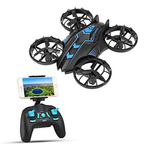 SZJJX APP-RC Drone 2.4 GHz Remote Control FPV Wifi Quadcopter 4CH 6-Axis Gyro Helicopter, Headless Mode, Altitude Hold, with HD Camera Real Time Transmission RTF SJ515