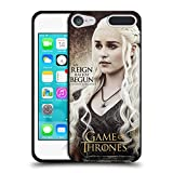 Official HBO Game Of Thrones Daenerys Targaryen Character Quotes Black Soft Gel Case for Apple iPod Touch 5G 5th Gen