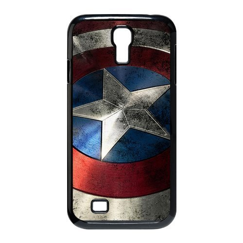 [smart phone case SamSung Galaxy S4 I9500 Captain America Retro Vintage Slim HARD Case Skin Cover] (Cool Quick And Easy Costumes)