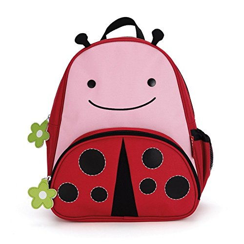 Skip Hop Zoo Toddler Kids Insulated Backpack Livie Ladybug Girl, 12-inches, Pink (Carrier Sandwich)