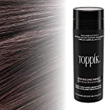 Toppik Hair Building Fibers, Dark Brown, 0.97 oz