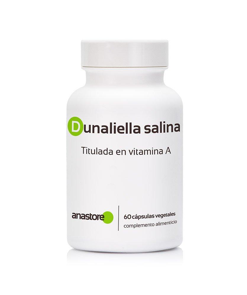 VITAMINA A * Retinol * 100% natural * Apta para VEGANOS * Procedente de la alga Dunaliella Salina * 16mg titulada al 30% en beta-caroteno * Calidad ...