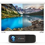 ELEPHAS 1080P HD LED Movie Projector, with 3500 Luminous Efficiency LCD Video Projector Support HDMI USB VGA Amazon Fire TV Smartphone Ideal for Office Home Cinema Entertainment Games Party