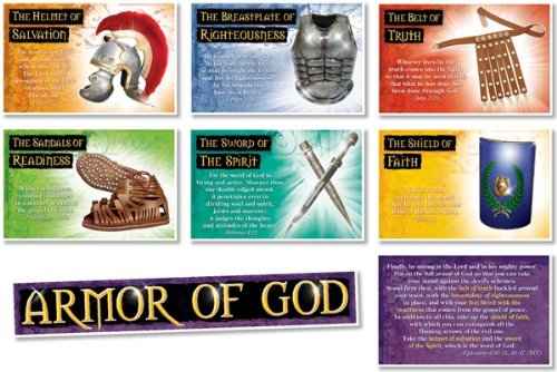 North Star Teacher Resources NS3109 The Armor of God Bulletin (Armor Of God Poster)