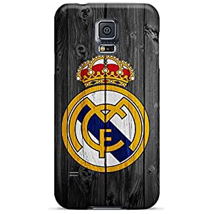 samsung galaxy s5 Skin mobile phone skins Hot Style Sanp On real madrid logo