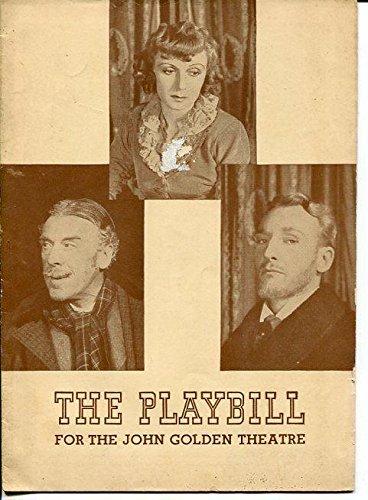 Judith Evelyn Leo G. Carroll Ferdi Hoffman Angel Avenue 1944 Playbill